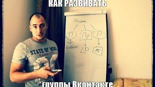 Как развивать группы Вконтакте