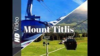 Titlis Mountain  Engelberg  Switzerland  Glacier  DJI Osmo Mobile  iPhone 7 Plus  Filmic Pro