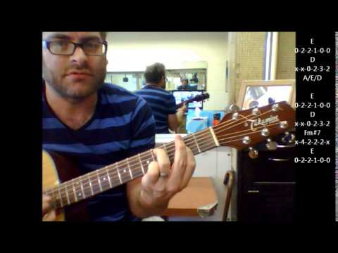 How to play She's So High by Tal Bachman on acoustic guitar