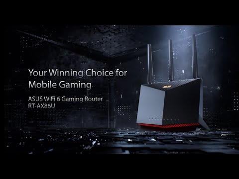 Your Winning Choice For Mobile Gaming - RT-AX86U | ASUS