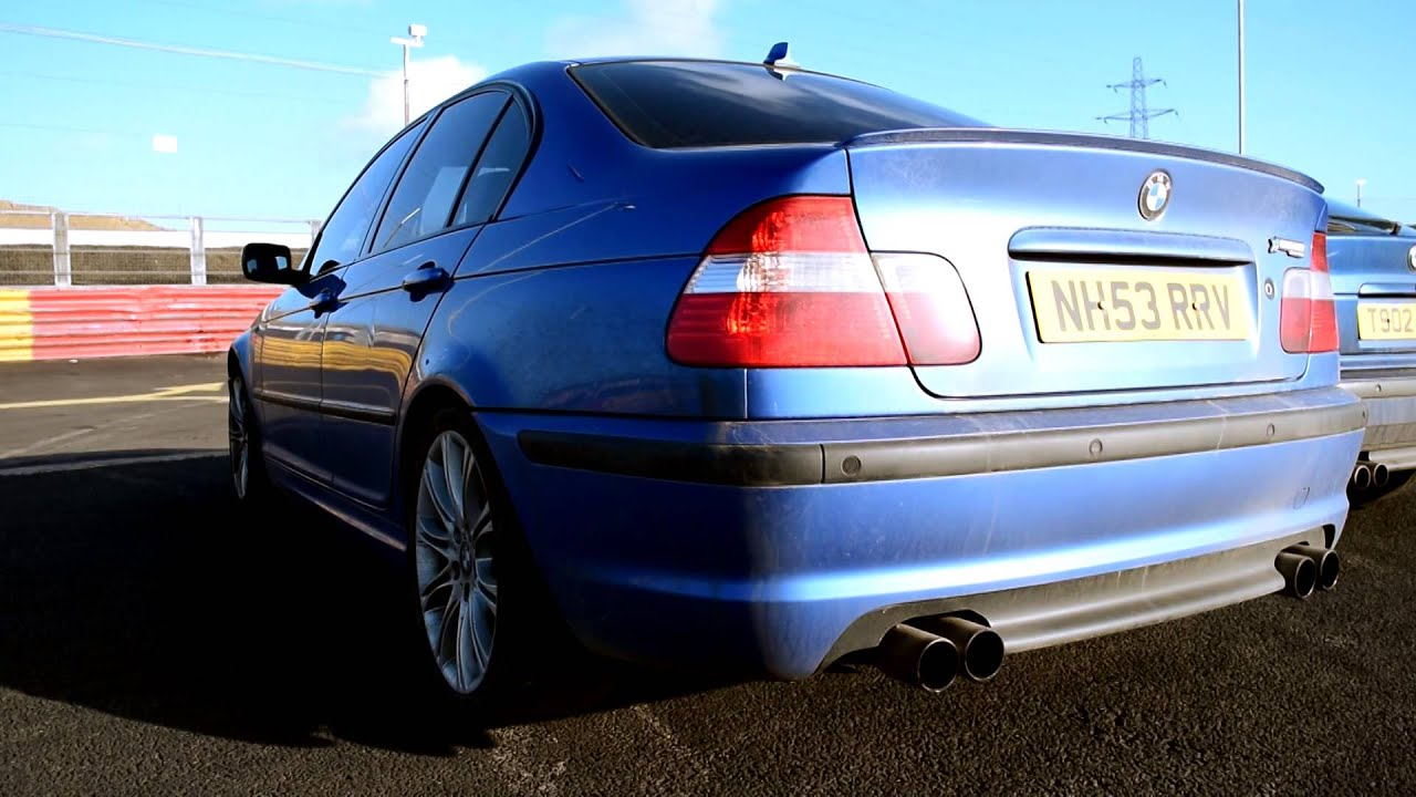 BMW E46 330i M Sport & Nissan 200SX S13 Exhaust Sounds - YouTube