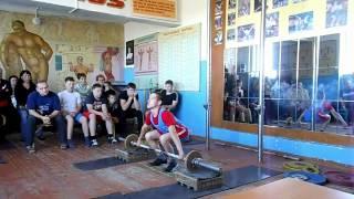 Открытое первенство по тяжелой атлетике в г. Гае