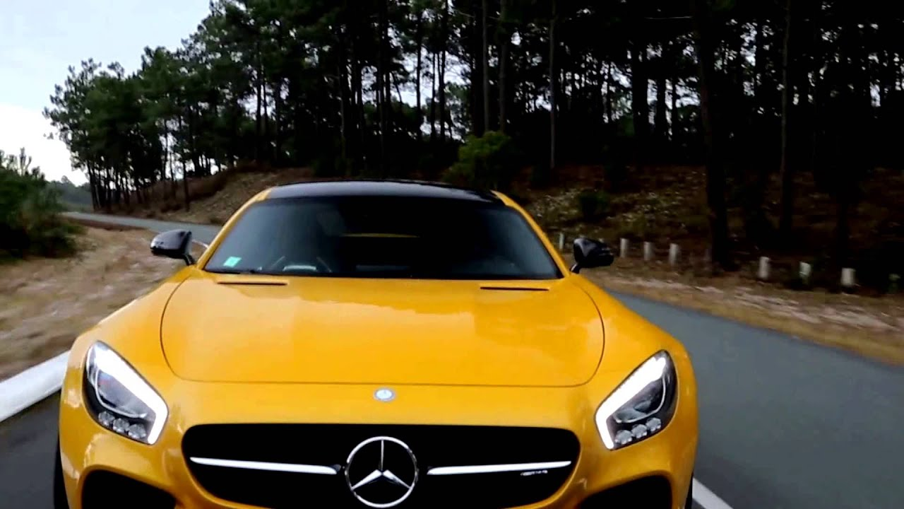 2015 Maserati Quattroporte >> 2016 Mercedes-AMG GT S - Yellow Color - YouTube