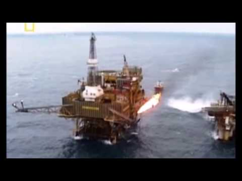 Explosion in the North Sea Piper Alpha Disaster
