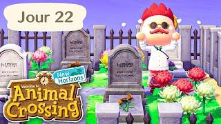 Jour 22 | Le Cimetière ⚰️ | Animal Crossing : New Horizons