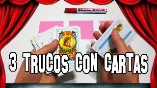 Impresionante 3 Trucos De Magia Con Cartas Youtube