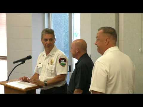 Newport Tennessee City Council Meeting August 2017