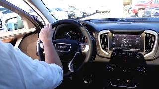 Brenna explains the 2018 GMC Terrain shifter