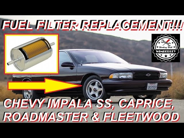 LT1 Fuel Filter Replacement 94 95 96 Chevy Impala SS Caprice Buick  RoadMaster Cadillac Fleetwood - YouTubeYouTube