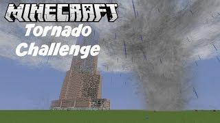 Minecraft Tornado Challenge Empire State Building