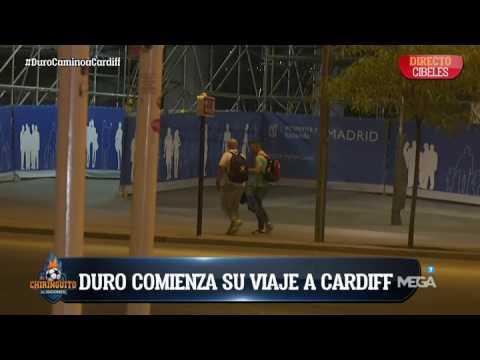Alfredo Duro comienza su viaje a Cardiff