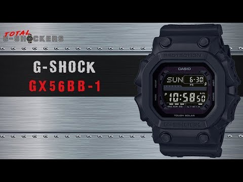 Men's Casio G-Shock KING All-Black Watch | GX56BB-1 Top 10 Things G Shock Review
