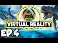 ARK Park VR Ep.4 - EPIC DINOSAURS BATTLES IN RESTING PLAIN & SILENT FOREST!! (Gameplay / Let's Play)
