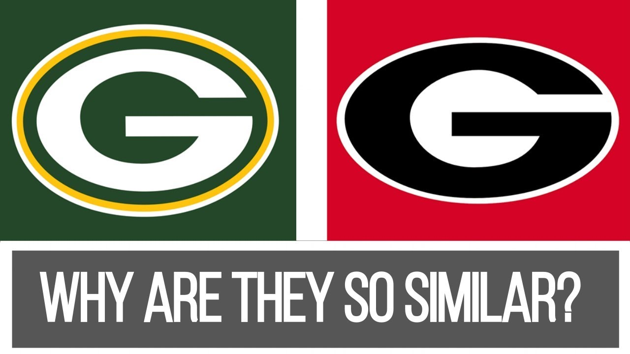 Who Created The G Logo First Why Do Green Bay And Georgia Have The Same Logo Youtube
