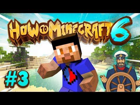 EXPLORING THE SEA! - How To Minecraft S6 #3