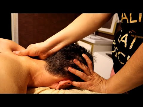 ASMR Wonderful Swedish Massage in Turkish Spa for Sweet Sleep