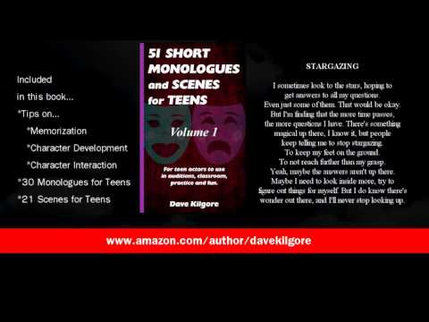 Short Monologues and Scenes For Kids and Teens, Books for Young Actors