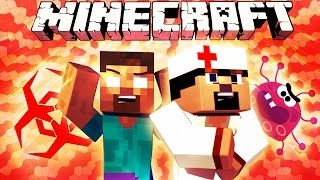 Если бы добавили БОЛЕЗНИ - Minecraft Machinima
