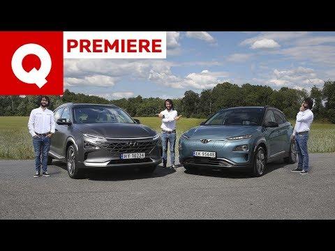 Meglio l'auto elettrica o a idrogeno? Hyundai Kona vs Nexo