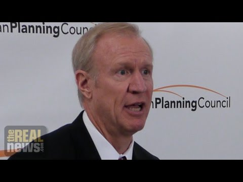 Illinois Governor Rauner Moves Against State Unions