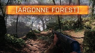 ► THE BEST MAP IN BATTLEFIELD 1 - Argonne Forest