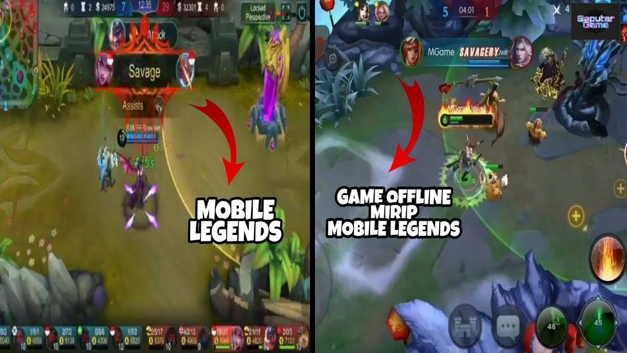 Mirip Mobile Legends 7 Game Android Offline Moba Terbaik 2019 Youtube