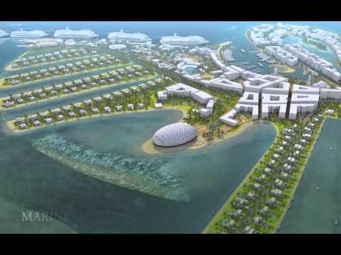 Oryx Island - Doha Qatar - HQ