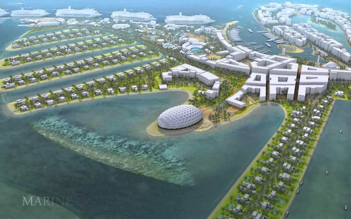 Oryx Island Doha Qatar Hq Youtube