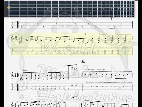 Jerry Cantrell   Hellbound GUITAR TAB mp3