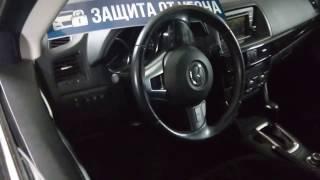 Автозапуск со штатного брелка Mazda CX-5 2016