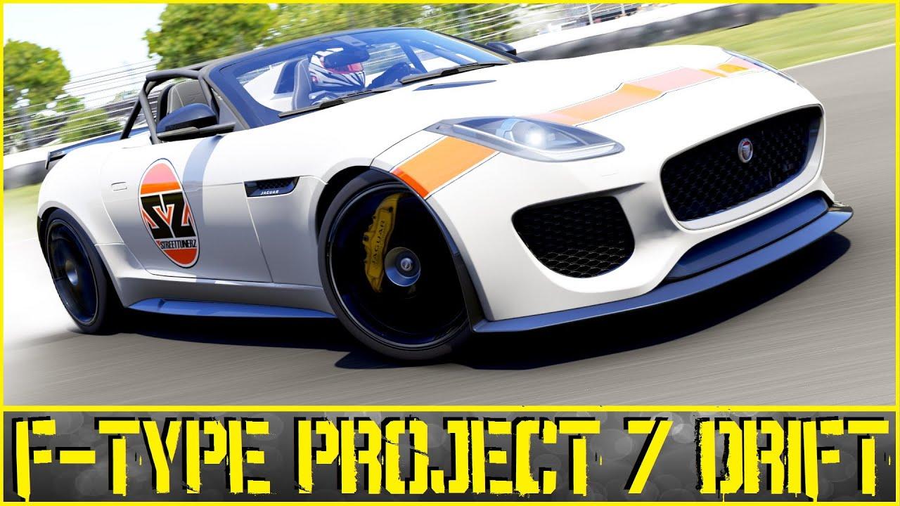 Forza Motorsport 6 - Jaguar F-Type Project 7 Drift ...