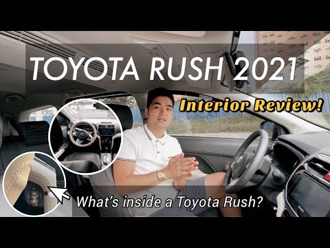 TOYOTA RUSH 2021 BEGINNERS GUIDE Part 2. Interior Full Review   Team DC ♥