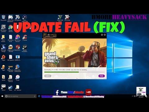 GTA V - Update Installation Failed (FIX)
