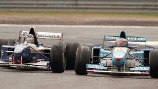 Шумахер побеждает с 16-го места!  Бельгия - 1995
