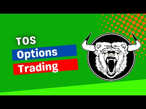 ThinkorSwim Options Trading Tutorial - How to Trade Options on ThinkorSwim Platform