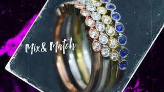 Cobymadison jewelers stackable rings - Custom design your own Stacking Rings