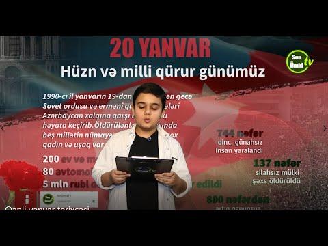20 Yanvar - qanla yazılmış tarix