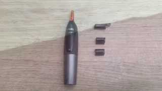 Review of: Philips NT3160/10 Nose Hair, Ear Hair and Eyebrow Trimmer Series 3000