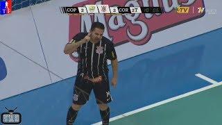 vuclip Melhores Momentos Copagril Futsal 3 x 3 Corinthians - 3ª Semana Liga Nacional de Futsal 2018