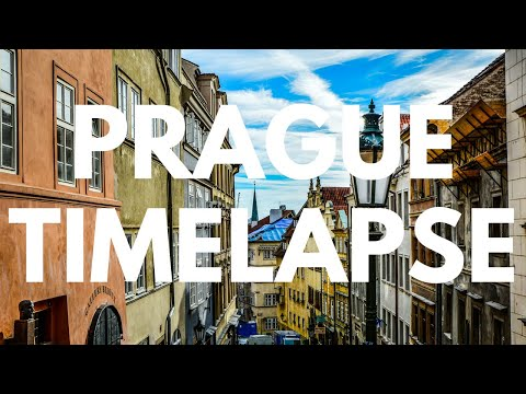 Prague Timelapses: A Time-Lapse Montage