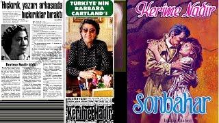 Kerime Nadir  Çağdaş Türk Edebiyatı Kısa Biyografi Denemeleri