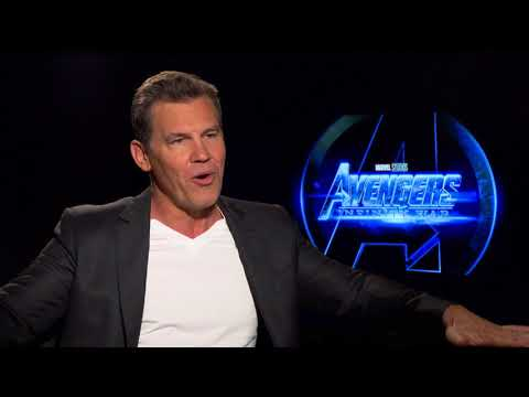 Avengers: Infinity War: Josh Brolin Thanos Official Movie Interview