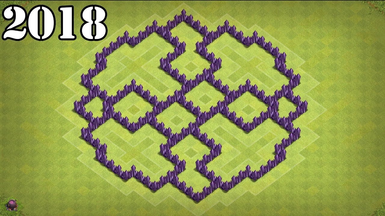 Coc Th 7 Best Defence Base 9
