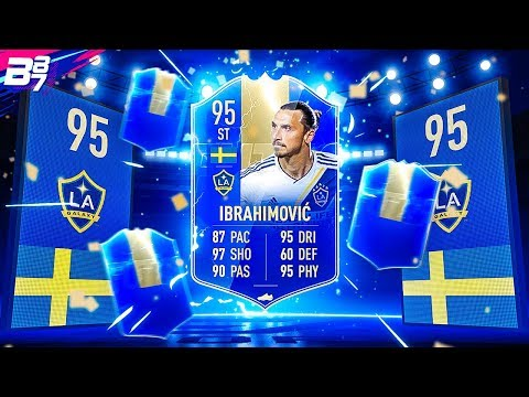 TEAM OF THE SEASON IBRAHIMOVIC IN A PACK! | FIFA 19 ULTIMATE TEAM