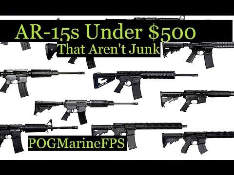 Best AR-15 Rifles Under $500 - Not Junk - POGMarineFPS