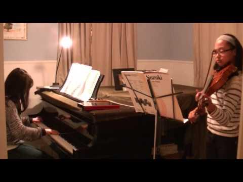Laws/Takagi performing La Folia by M. Marais