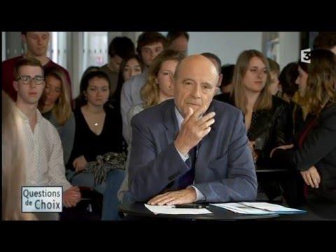 Questions de Choix avec Alain Juppé : le maire, la ville et l'étudiant