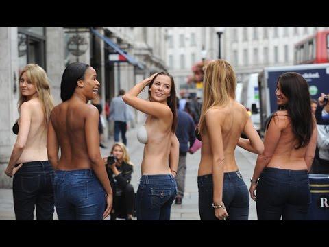 RAGAZZO LO ESCE DAVANTI A 100 FEMMINISTE E IMPAZZISCONO(non è uno scherzo)