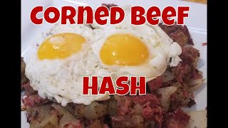 Home canned Pantry Corned Beef Hash With Linda's Pantry