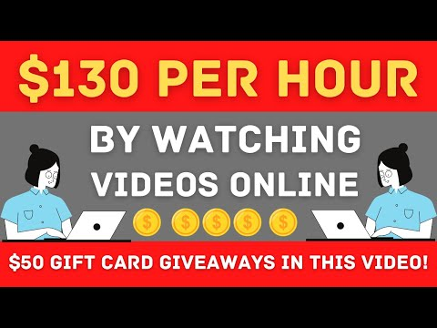 FREE $130 PER HOUR By Watching YouTube Videos - PayPal Money! (How To Make Money Online)